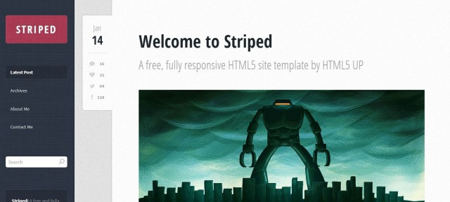 Striped by HTML5Up
